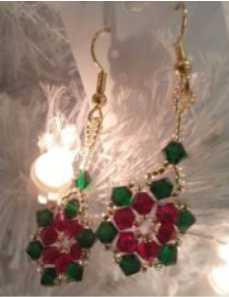 poinsettia_earrings
