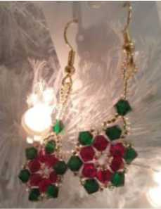 poinsettia_earrings