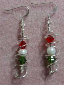 spiral_christmas_earrings